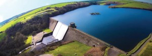 Llys y Fran: Aerial snap from NoLimits Photography