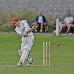 Iwan Rees: Runs and a wicket for Llanelli Captain