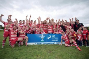 Newcastle Emlyn: Division One West Champions .