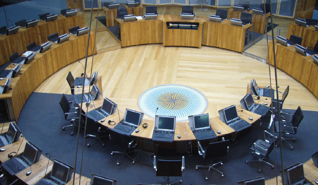 The Senedd: home of the welsh assembly