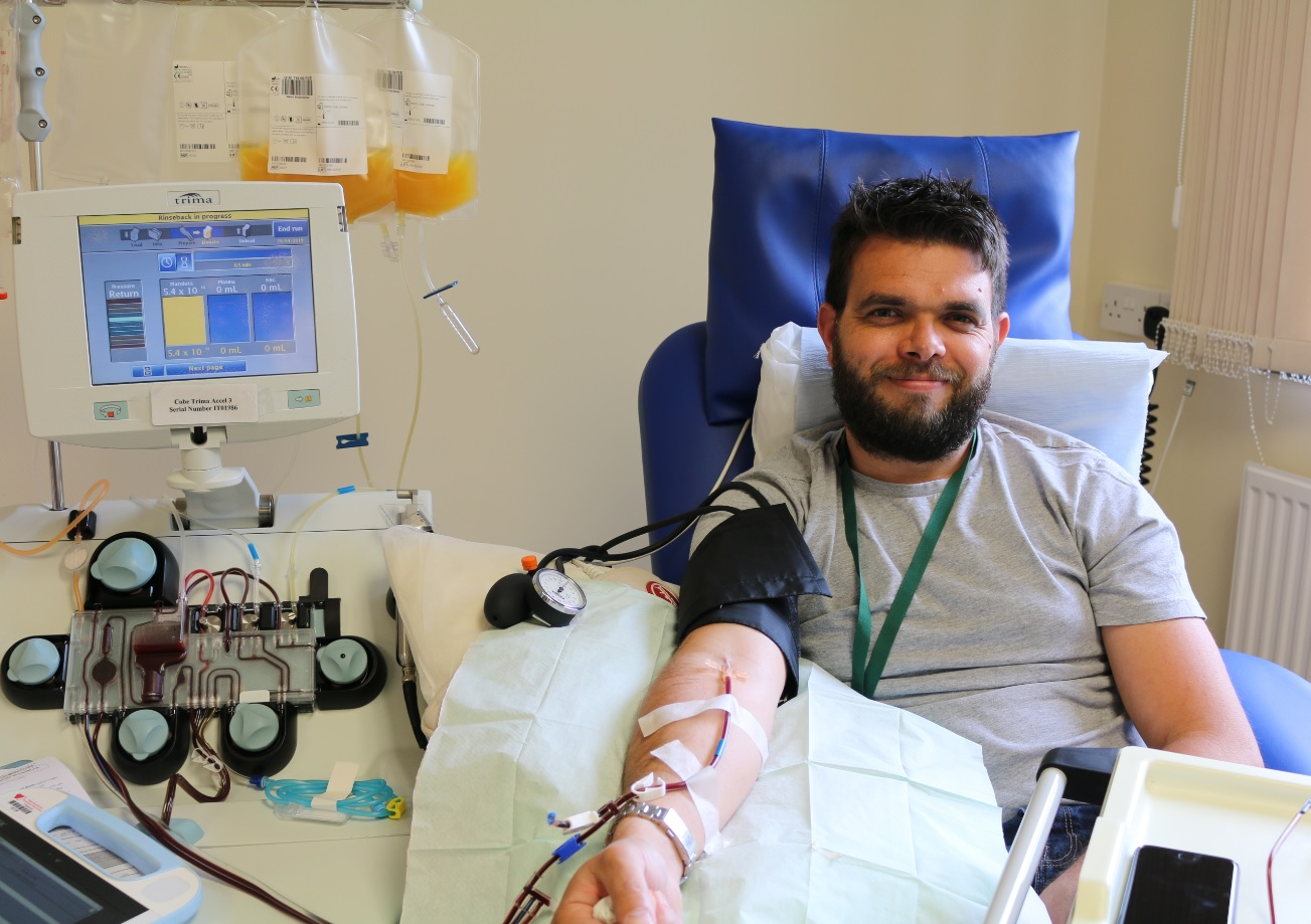 Platelet donor calls on others to join him - The Carmarthenshire Herald