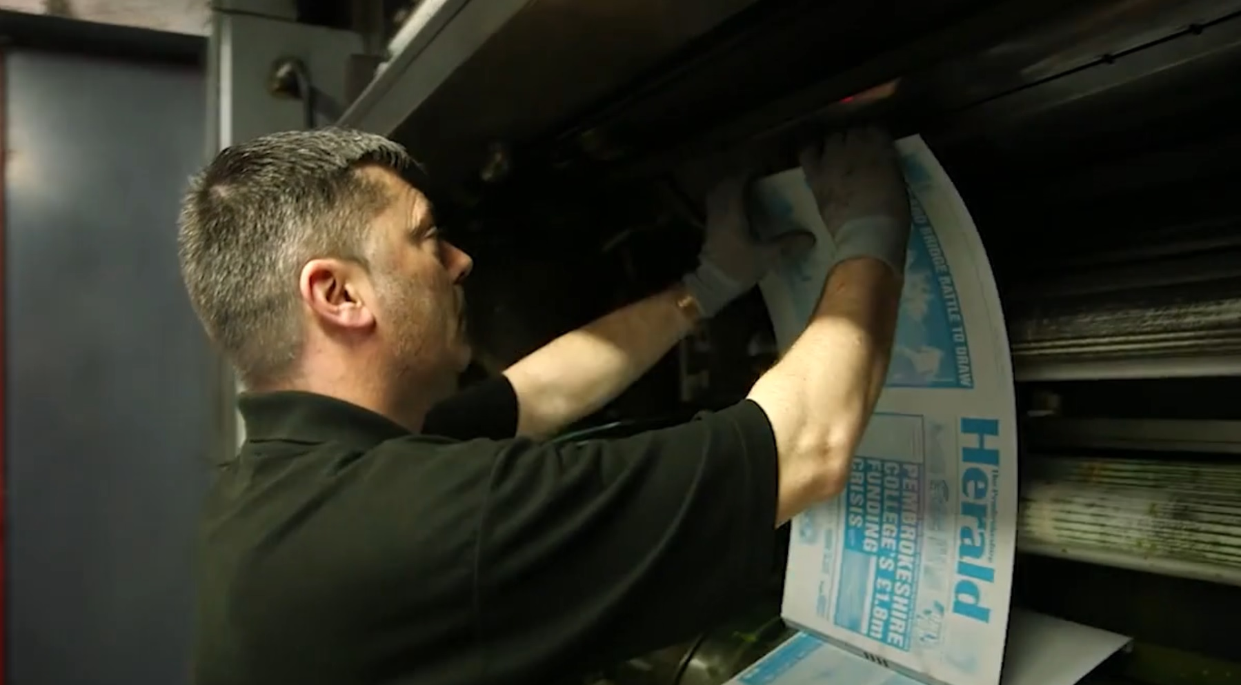 Future of The Pembrokeshire Herald newspaper secured - The Carmarthenshire Herald