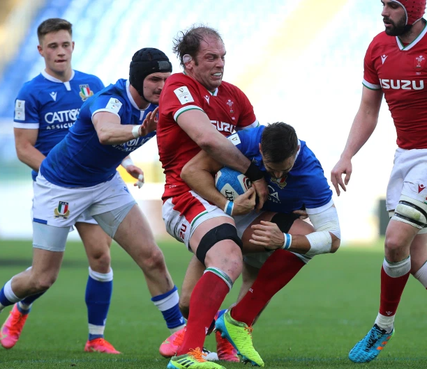 A 48-7 victory over Italy leaves Wales a win from the Grand Slam